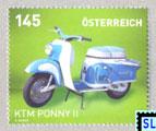 Austria Stamps 2014 - Motorcycles KTM Ponny II