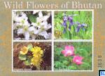 Bhutan Stamps - 2014 Wild Flowers MS
