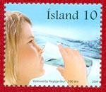 Iceland Stamps - Reykjavík Water Works 100th Anniversary