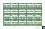 Sri Lanka Stamps 2017 Sheetlet - Ferguson High School, Full Sheet