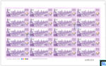 Sri Lanka Stamps 2017 Sheetlet- United Nations Day of Vesak, Borobudur, Indonesia