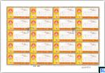 Sri Lanka Stamps 2017 Sheetlet - 7th Buddhist Summit, Full Sheet