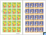 Sri Lanka Stamps 2017 Sheetlet - WSouth Korea–Sri Lanka Diplomatic Relations, 40th Anniversary, Full Sheets