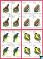 Sri Lanka Stamps 2017 - Endemic Birds, Blocks