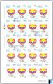 Sri Lanka Stamps 2018 Sheetlet - World Kidney Day, Full Sheet