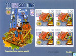 2012 Sri Lanka Stamps - 100 Years of Scouting Miniature Sheet