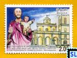 2006 Sri Lanka Stamps - St. Joseph's Church Wennappuwa