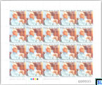 2014 Sri Lanka Stamps Full Sheet - Ray Wijewardene, Sheetlet