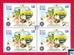 2010 Sri Lanka Stamps - St. John Ambulance