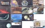 Sri Lanka Stamps 2014, Folder - Solar System, Presentation Pack