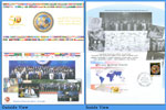 Non-Aligned Movement FDC Folder