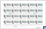 2016 Sri Lanka Sheetlet - D.R. Wijewardena, Full Sheet