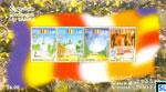 Sri Lanka Stamps Miniature Sheet - Vesak 2001