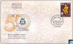2016 Sri Lanka Stamps First Day Cover - Archaeological Society