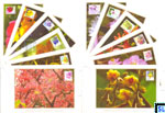 Sri Lanka Stamps 2016 Maxicards - Flowers, Definitive