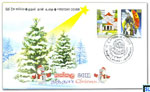 Sri Lanka first day cover of Christmas 2011