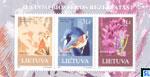 Lithuania Stamps - Flora & Fauna, Žuvintas Reserve