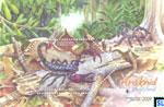 Malaysia Stamps - Black Scorpion