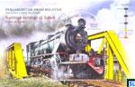 Malaysia Stamps Miniature Sheet - 2015 Malaysian Public Transport Trains, Sabah