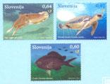 Slovenia Stamps - Marine Fauna