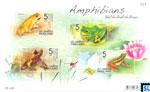 Thailand Stamps - Amphibians MS