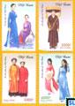 Vietnam Stamps - Áo dài of Vietnamese Women